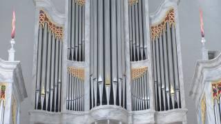 Mariager Kirkes nye Aubertin orgel