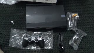 PS3 12GB Super Slim Console Unboxing India (Bought from eBay)