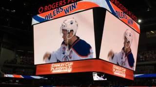 Oilers Vs. Sharks Game April 22, 2017