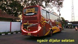 JOSS LINTAS SELATAN Trip Po Sugeng Rahayu Jb3 Bandung Ngawi Part2
