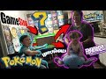 BIG MYSTERY BOX FULL OF TOYS, GAMES & POKEMON CARDS! FIRST FAMILY UNBOXING! SUPRISES FROM GAMESTOP!