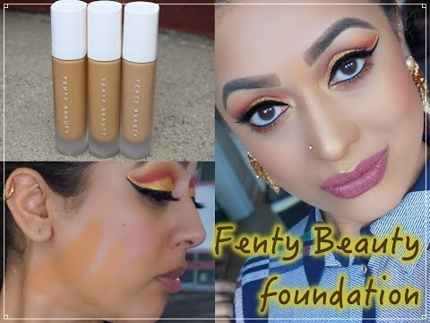 REVIEW & DEMO Fenty Beauty Pro Filt'r Foundation 300 310 & 330