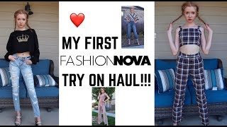 Life With MaK ~ FIRST EVER Fashion Nova Try-On Haul...
