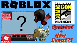 New Event?! + UPDATED Info on Roblox SDCC Toy & Dominus