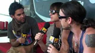 kings of leon, interview roskilde 2008
