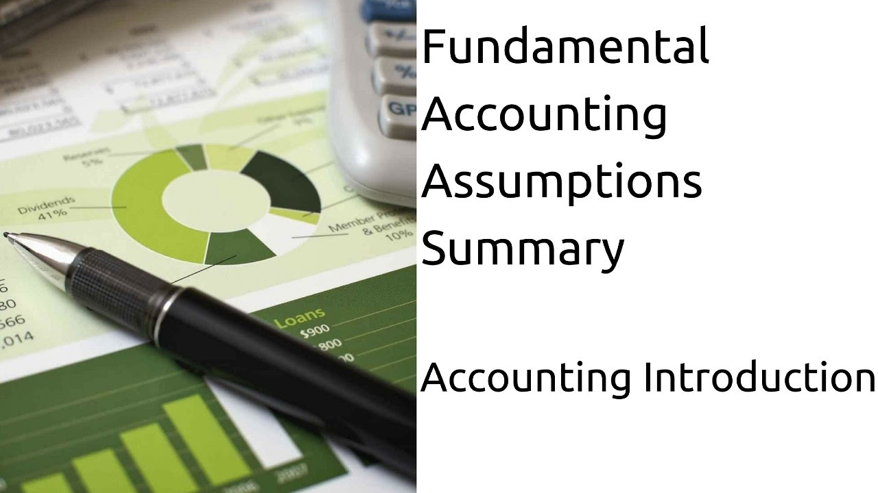 accounting assumptions Entity assumption the entity assumption separates a business from its owners while certain types of business, such as a sole proprietorship or partnership, may not be legally separable from the business owners, the accounting performed rests on this assumption.