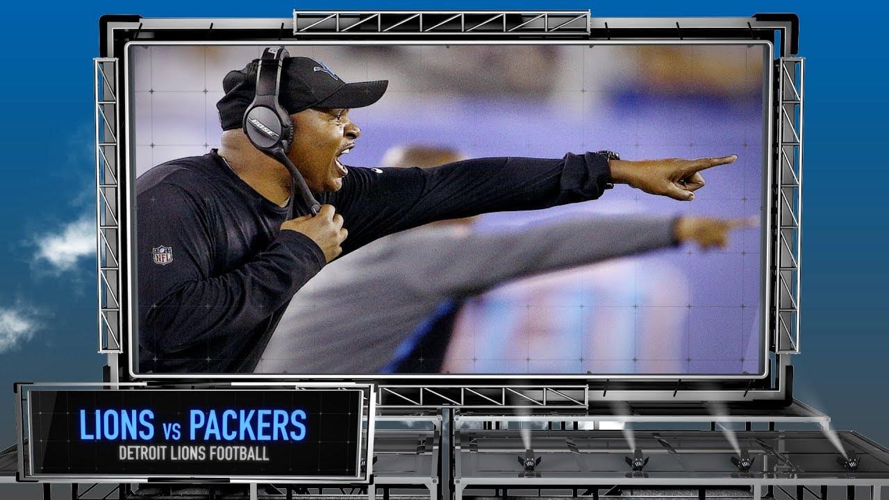 Detroit Lions vs. Green Bay Packers - Detroit Lions Preview Show