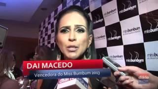Dai Macedo   Diário de SP   Miss Bumbum Brasil 2013