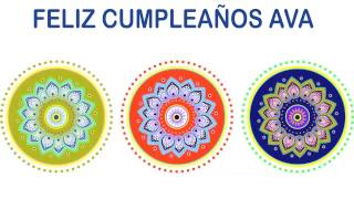 Ava   Indian Designs - Happy Birthday