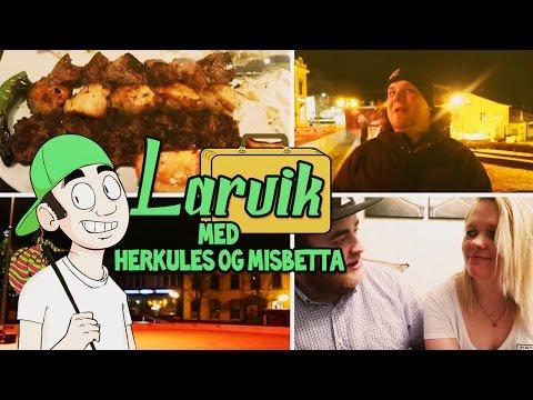 Vlog: I Larvik med Herkules og Misbetta!
