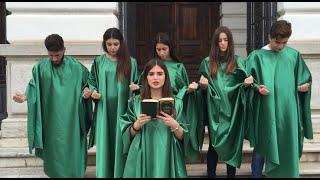 """""""Dante a mezzogiorno"""", il flashmob del liceo classico di Reggio Calabria"""