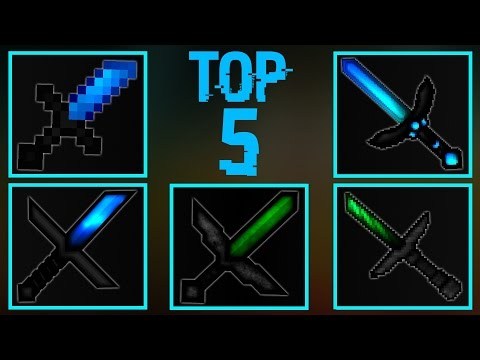 TOP 5 MINECRAFT PVP TEXTURE PACKS!(FPS BOOST/NO LAG! 1.11/1.10/1.9/1.8)