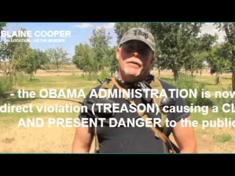 Blaine Cooper Exposes Border Invasion! Facebook Bans Video and Freezes Account!