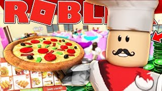 MAKING ROBUX AT MY PIZZA PLACE - ROBLOX RESTAURANT TYCOON SIMULATOR #1