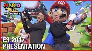Mario + Rabbids Kingdom Battle: E3 2017 Official Conference Presentation | Ubisoft [NA]