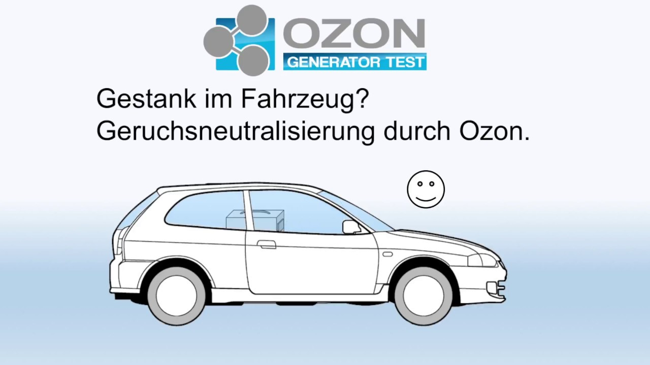 Car Cleaning with Ozone - Smell Neutralization Made Easy