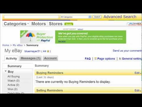 How To Sell On Ebay Send An Invoice To A Customer Youtube