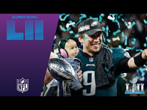 Eagles Trophy Presentation & MVP Ceremony! | Eagles vs. Patriots | Super Bowl LII Postgame