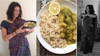 Vegan Bollywood Creamy Potato & Bean Curry Recipe With A Dance!
