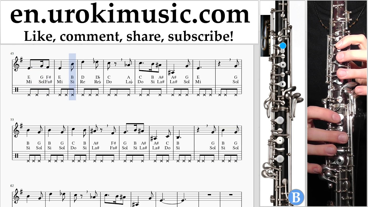 Oboe Lessons Harry Potter Hedwig S Theme Sheet Music Tutorial Um I352 Youtube