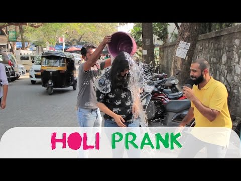 Holi Prank in Public || Shudh Desi Videos