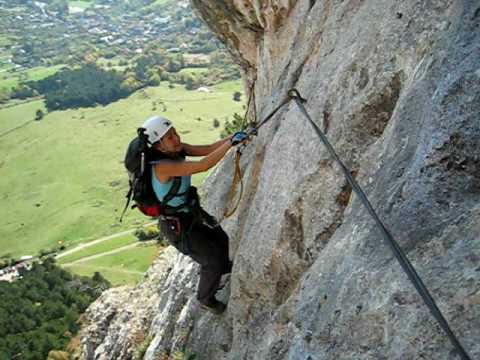hohe wand via ferrata d extr m neh z roland sport club youtube. Black Bedroom Furniture Sets. Home Design Ideas