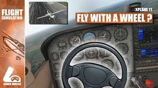 CAN YOU FLY A PLANE WITH A STEERING WHEEL ?