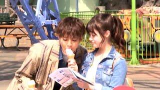 片寄涼太、橋本環奈とアイスで間接キス!?「サービスカット頂きました!」 映画『午前0時、キスしに来てよ』メイキング映像