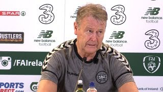 Ireland 1-5 Denmark (Agg 1-5) - Age Hareide Full Post Match Press Conference