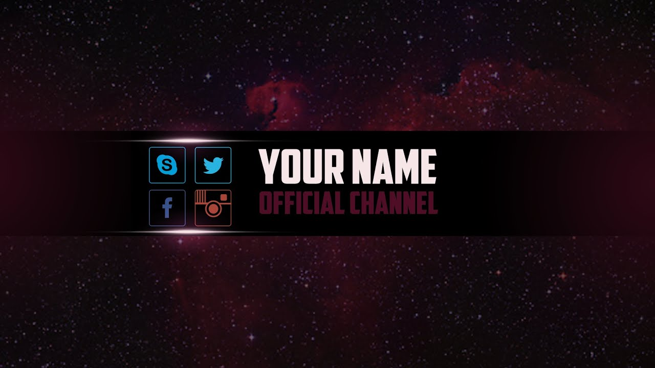 youtube banner template green psd photoshop youtube in banner