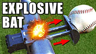 Download Explosive Bat in Slow Motion Ft. Stuff Made Here - Smarter Every Day 245