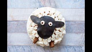 Sheep cake: easy and original!