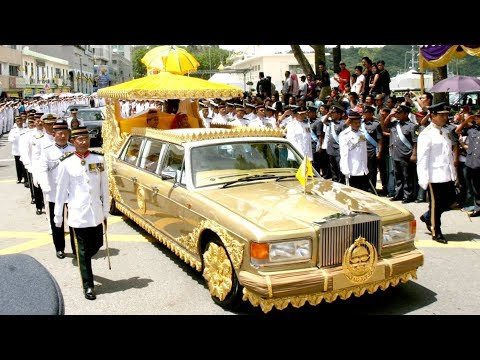 Sultan Of Brunei Car Collection 2019 - World's Most Expensive Rolls Royce