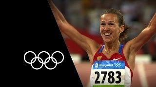 Gulnara Galkina-Samitova Sets Incredible Steeplechase World Record | Olympic Records