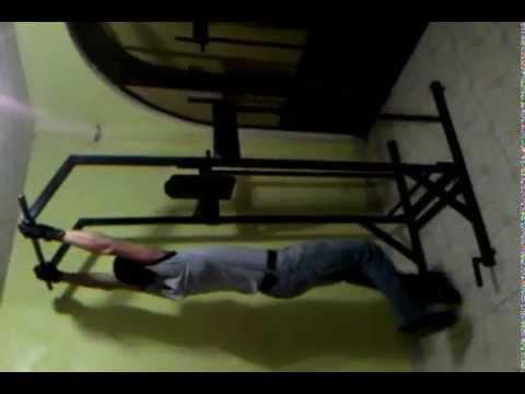 Maquina para hacer ejercicio power tower rutina casera - Maquina para hacer deporte en casa ...