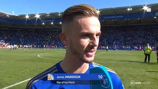 """We are a top side now!"" James Maddison reacts to late winner vs Spurs"