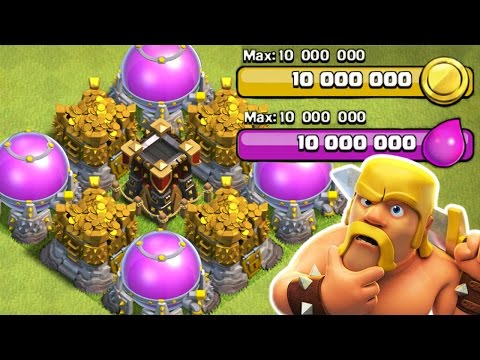 Clash Of Clans - 20 MILLION LOOT SPENT! - 100% MAXED OUT LOOT STORAGE'S!