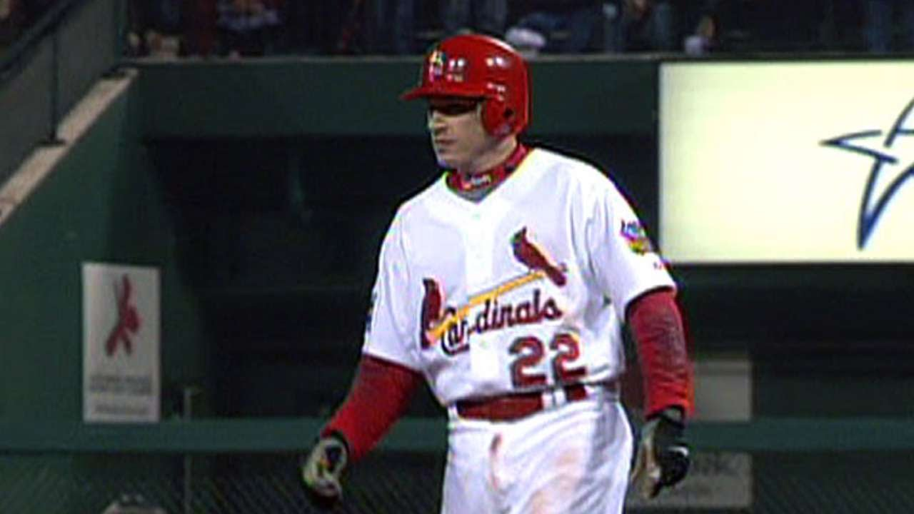 2006 WS Gm4 Eckstein Goes 4 For 5 With Two RBIs
