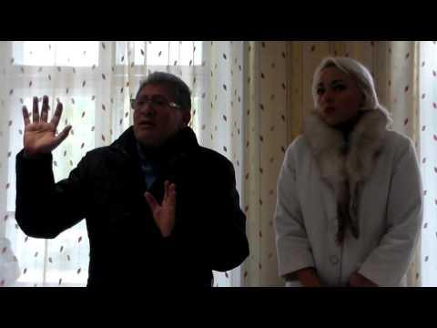 Mihai Ghimpu în dialog cu locuitorii din satul Saca
