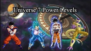 Video DRAGON BALL SUPER   UNIVERSE 7 POWER LEVELS download MP3, 3GP, MP4, WEBM, AVI, FLV Juli 2018