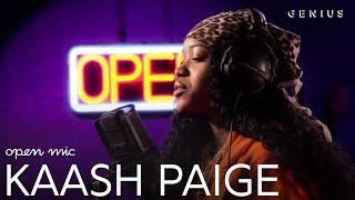 Kaash Paige Love Songs (Live Performance) | Open Mic