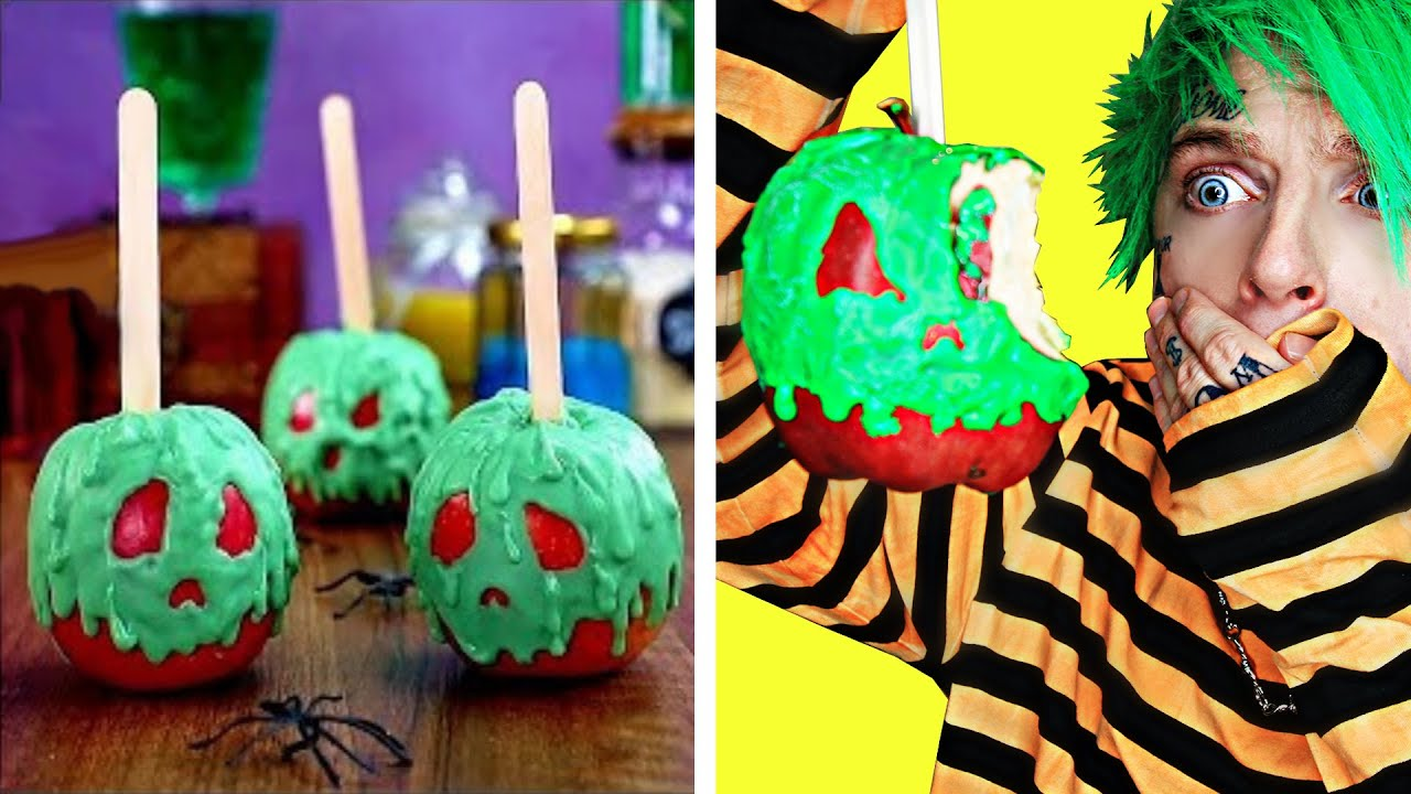 I Tried 5 Scary Halloween Recipes That Everyone Should Know!
