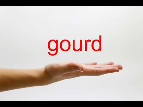 How to Pronounce gourd - American English