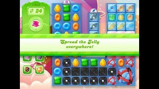 Candy Crush Jelly Saga Level 1078 (3 stars, No boosters)