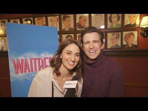 Sara Bareilles And Gavin Creel Bring Real-Life Love To Broadway's Waitress