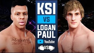 KSI vs Logan Paul 🥊 Boxing Match ( Boxing Rules Only UFC 3)