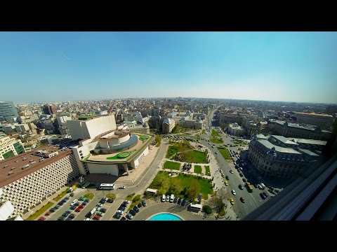 Time-lapse Bucharest - InterContinental Hotel 2017