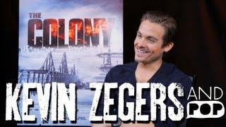 Kevin Zegers keeps it cool in The Colony