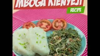 How to cook mboga ya kienyeji