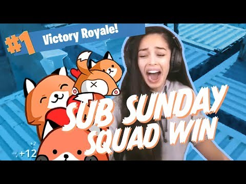 Squads with Viewers! Valkyrae Fortnite